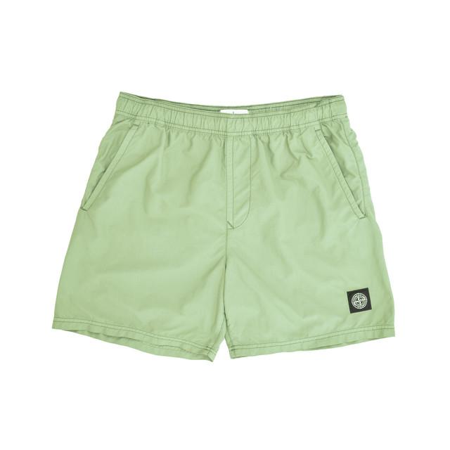 Stone Island Nylon Shorts Khaki 7015B0946