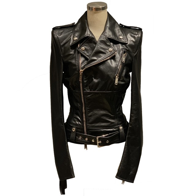 BEN TAVERNITI UNRAVEL Leather Jacket