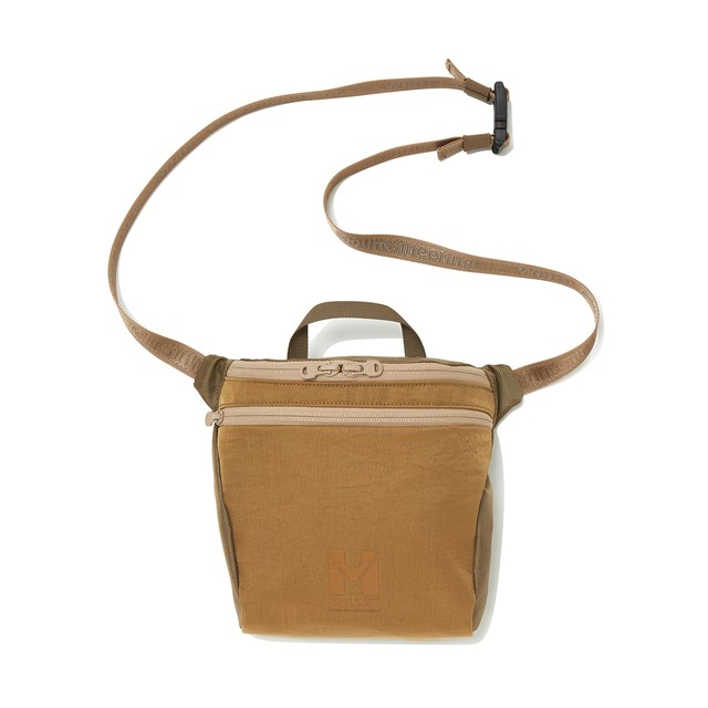 WM × MILLET SHOULDER BAG 'JAUNTY' - BEIGE