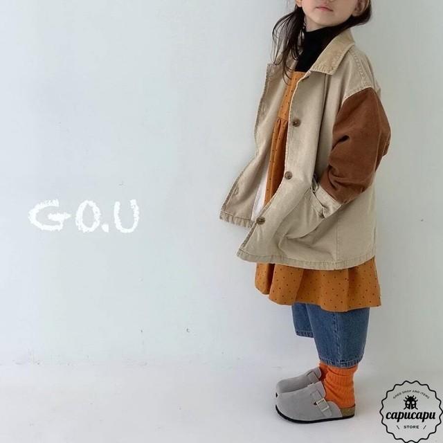 «予約» go.u jacket 2colors ビッグシルエット ジャケット