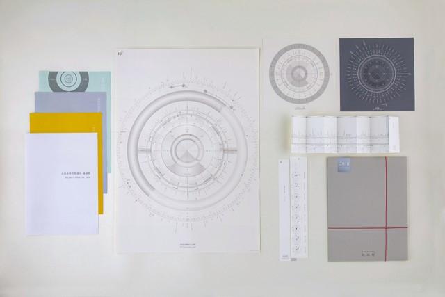太陽系時空間地図 地球暦 2018 日本語版