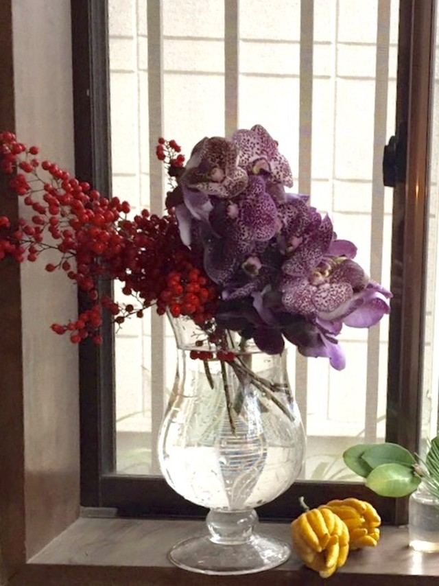 お正月のお花SET 5000円+tax *12月27日発送限定