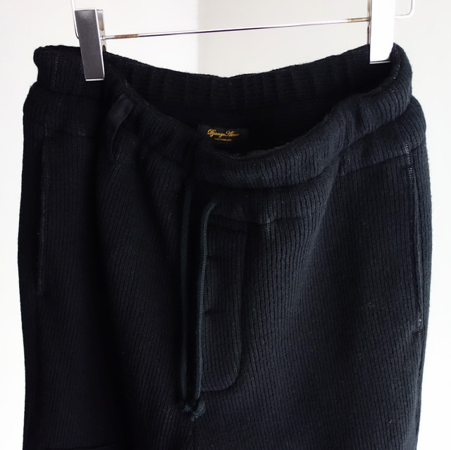 fishermanswork quarterknit knickers / black