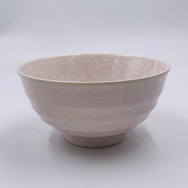 【陶あん】outlet京焼 清水焼 花結晶 ピンク 麺鉢*限定21個*