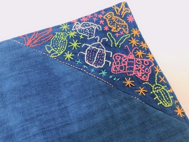 レンテン族 刺繍ランチョンマット もり