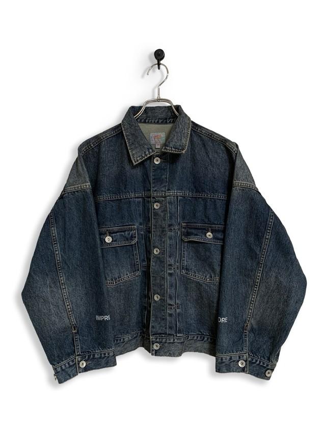 12.5oz Denim Jacket / one wash