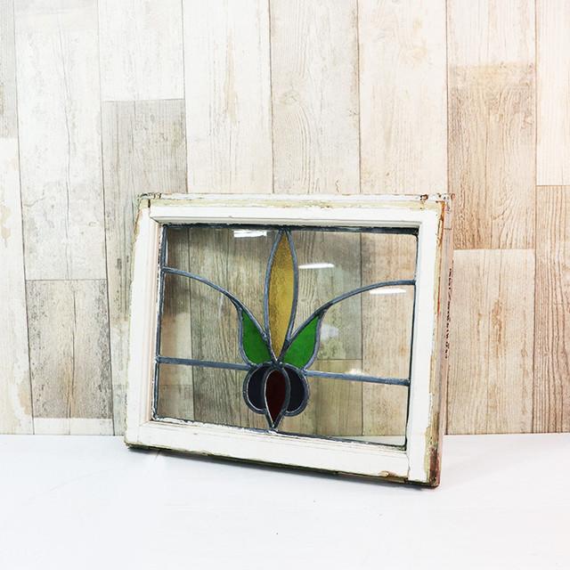 【V-19】窓枠ステンドグラス