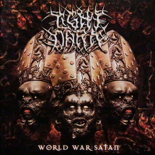 LIGHT OF DARK『World War Satan』CD+DVD 2枚組み