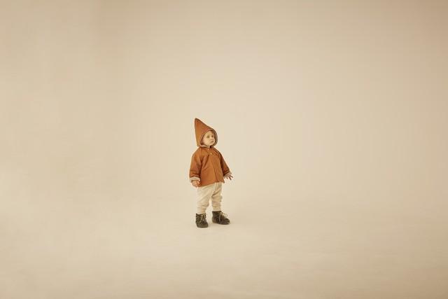 (予約8月入荷)【21AW】eLfinFolk(エルフィンフォルク) elf coat(90/100) コート アウター トンガリ