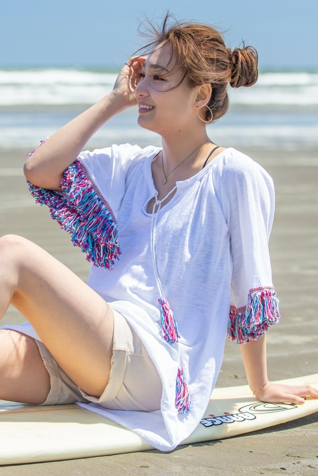◆Mon ange Louise◆NEW! Karen Dress ビーチ ショートワンピース/プルオーバー