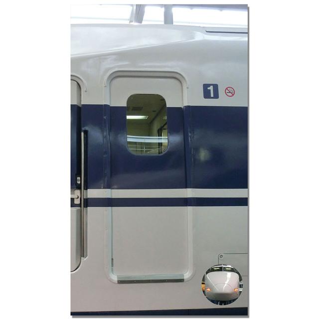 【4589839356848予】新幹線 マルチタペストリーのれん 100系ドア