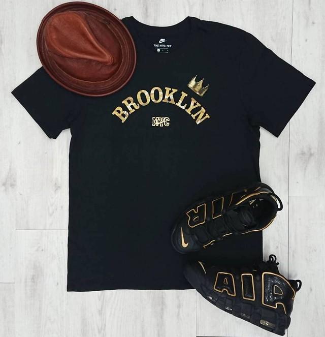 限定モデル☆【Nike x Brooklyn, NY】Tシャツ(BLACK)M, Lサイズ在庫有り!!