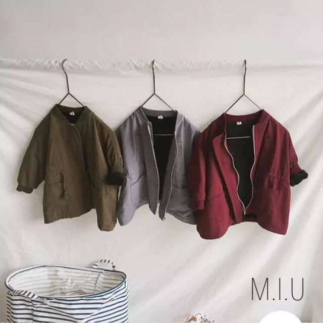 キッズMA-1コート #MIU619