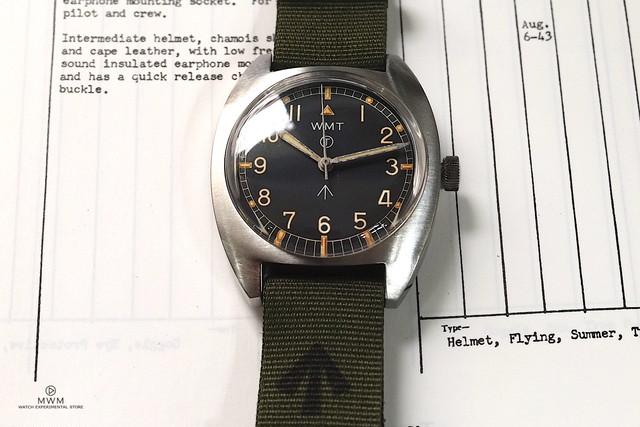 """【限定】WMT WATCH Milspec – W20 """" British Armed Forces """" / Aged Version GREEN"""