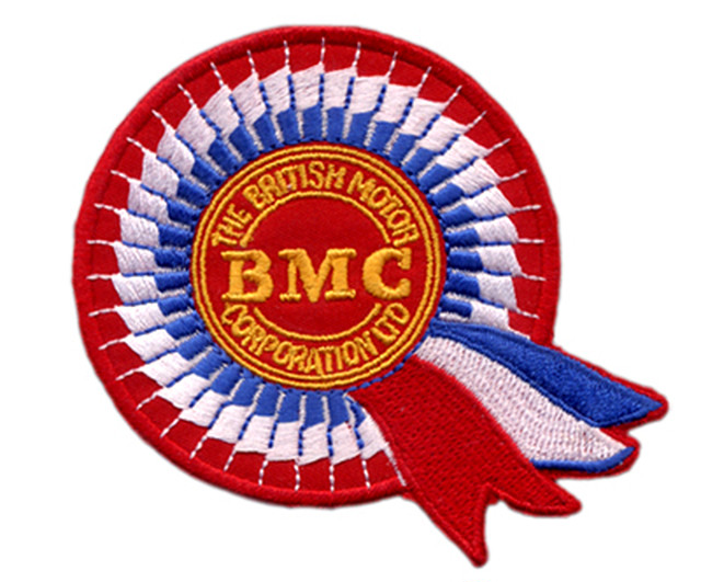 BMC(British Motor Corporation)・ロゴ・ワッペン