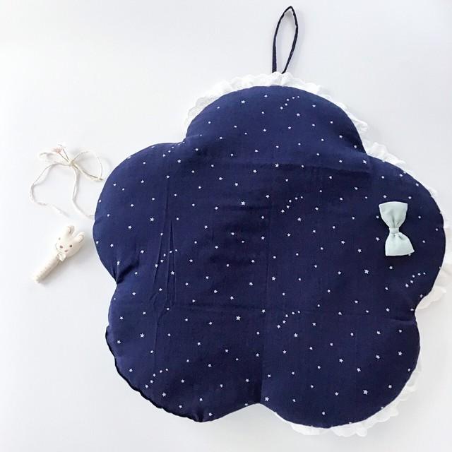 お花シルエット 赤ちゃん抱っこ布団 ベビー用 お昼寝マット おむつ替え トッポンチーノ 出産祝い