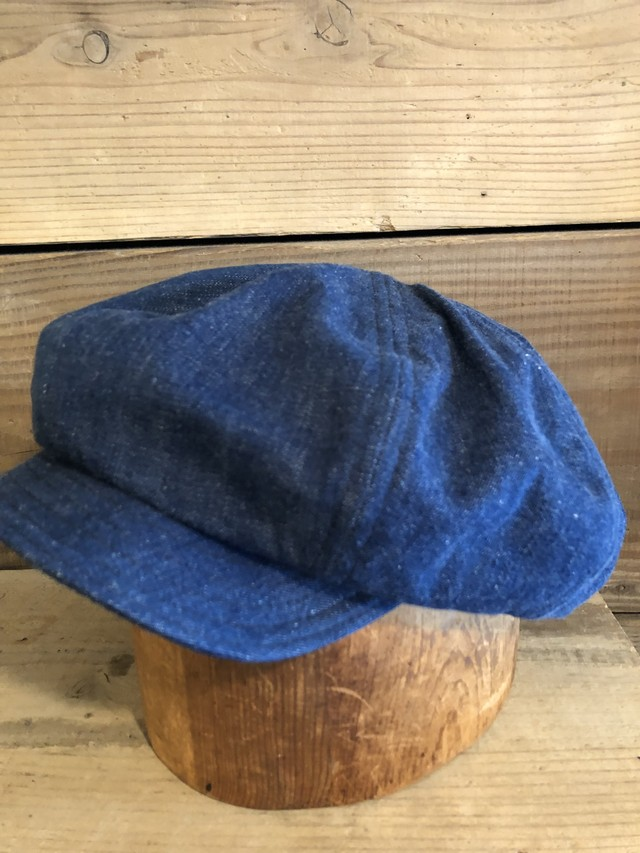 BAA BIG APPLE CASQUETTE (13) 1940s US NAVY DENIM