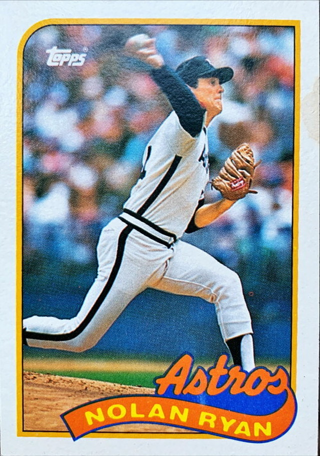 MLBカード 89TOPPS Nolan Ryan  #530 ASTROS