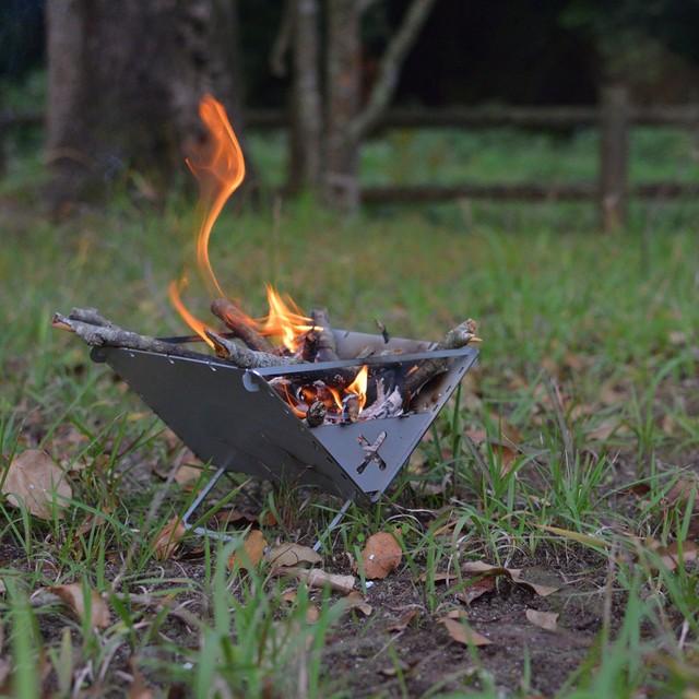 焚き火バッグ(ステンレスセット)
