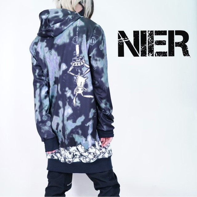 ZIP PARKA【NieR CATCHER】