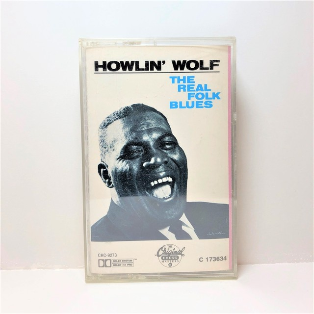 [中古カセット]  Howlin' Wolf ‎– The Real Folk Blues