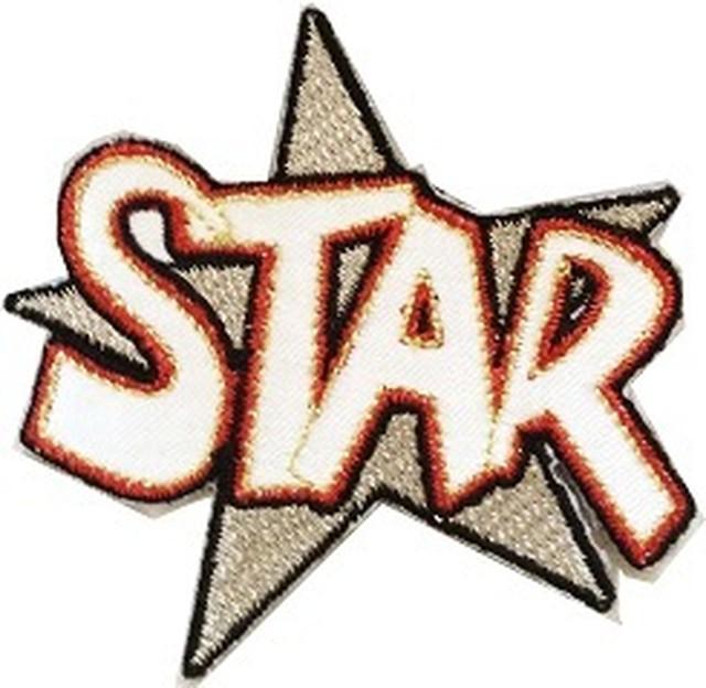 アイロンパッチ   【パッチ】STAR スター  FD2139