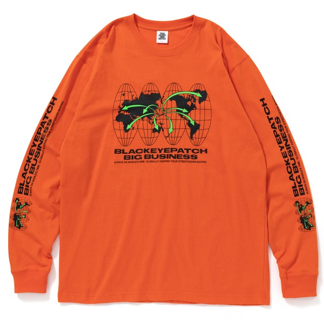 BLACK EYE PATCH / BIG BUSINESS L/S TEE