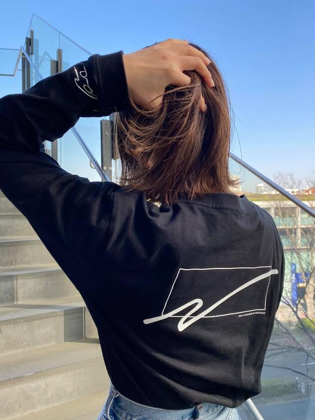 【 WC Naoto OCTE アパレル】WC Naoto OCTE ロングTシャツ ブラック