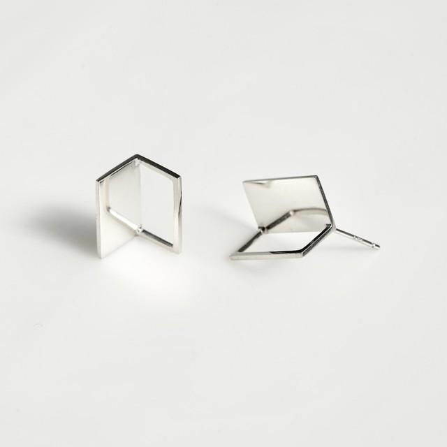 adachiyukari. / ピアス x(times) x/P-2 silver