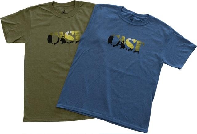 CAST - ロゴTシャツ