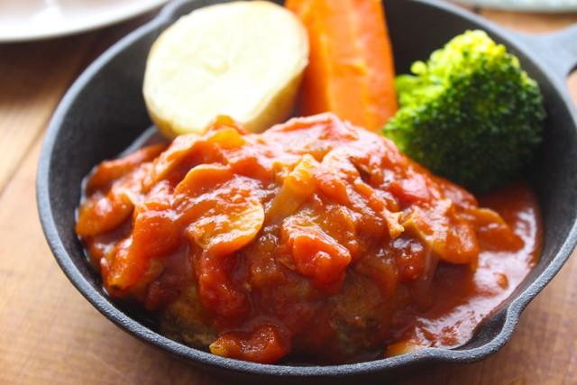 【ご自宅用】トマトソース煮込みハンバーグ◆1個〜何個でも!