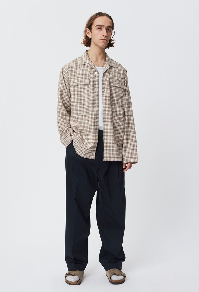 mfpen / WORK SHIRT(BEIGE)
