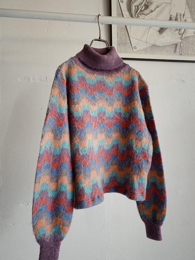 vintagecolorful knit