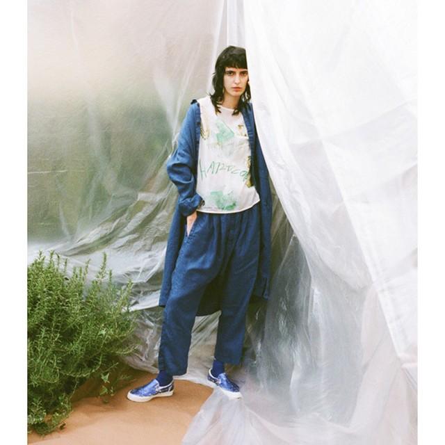 1-191-401 Walken Linen Coat [BLUE] size:F