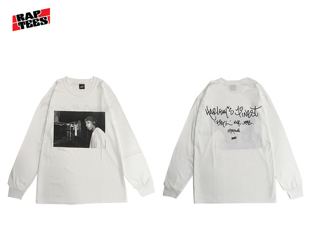 RAPTEES|BIG L PHOTO LS TEE