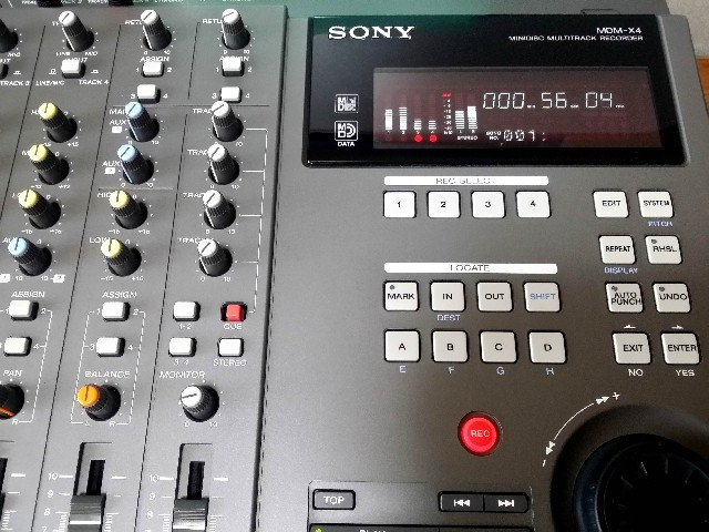 MULTITRACK MD RECORDER SONY MDM-X4 美品・完動品