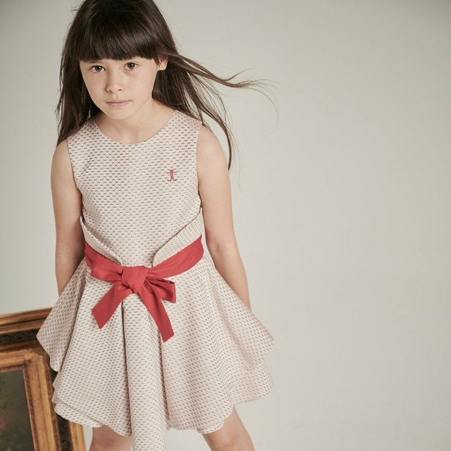 【NEW】WAVY OCCASION DRESS PINK SPARKLE =JESSIE AND JAMES=
