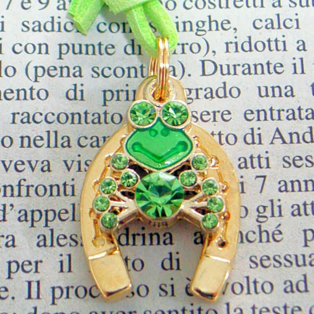 蛙(かえる・カエル)6 カラーストーン 「お金と幸せの守り神」