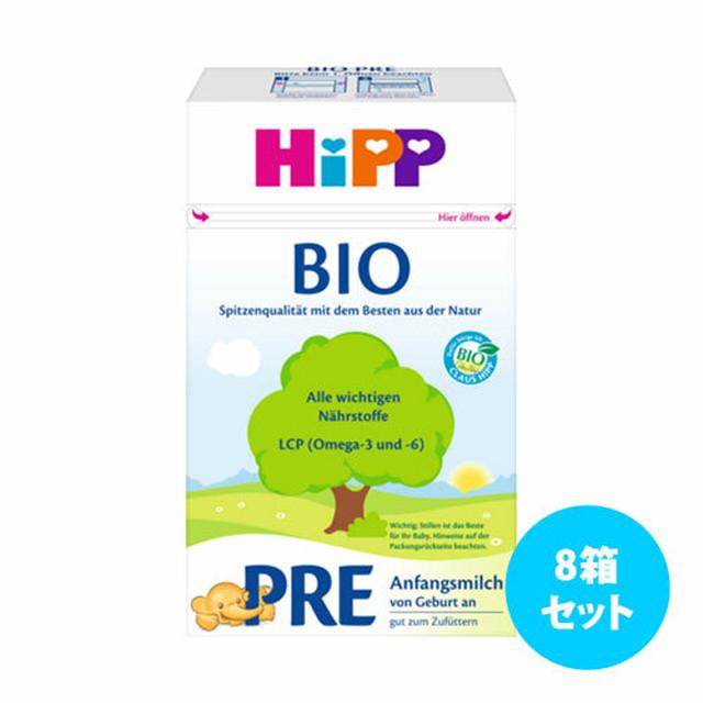 [6箱セット] Hippコンビオティック粉ミルク600g (Pre ~1)