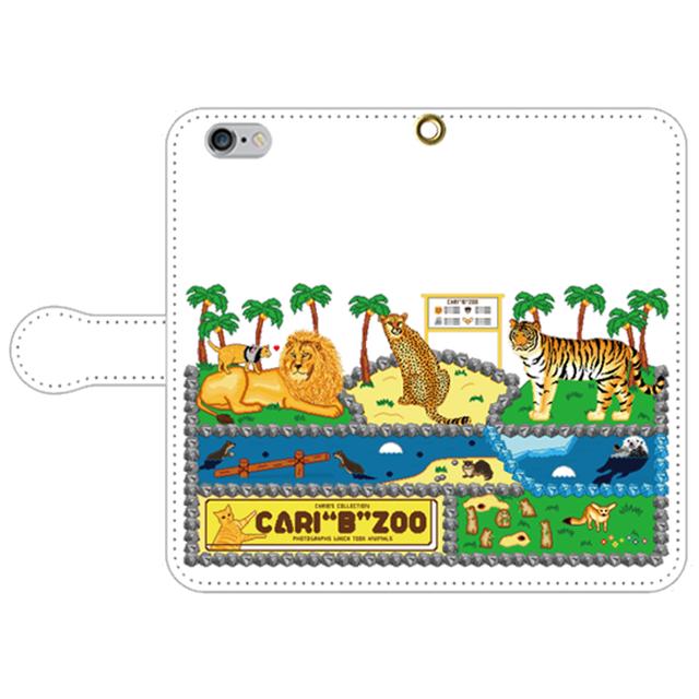 """iPhone6/6s手帳型ケース【CARI""""B""""ZOO ZOO】【送料無料】"""