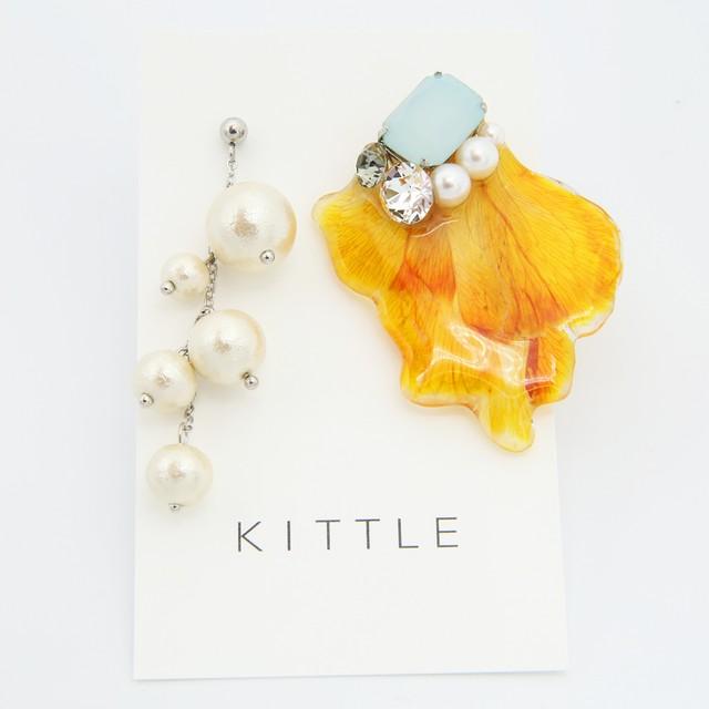KITTLE/キトル/アシメカーネーション/ピアス55
