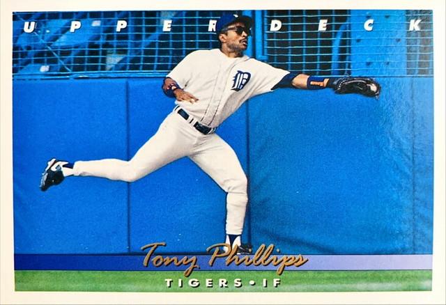 MLBカード 93UPPERDECK Tony Phillips #195 TIGERS