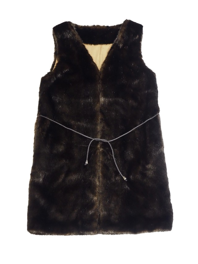 【ENLIGHTENMENT】FUR VEST