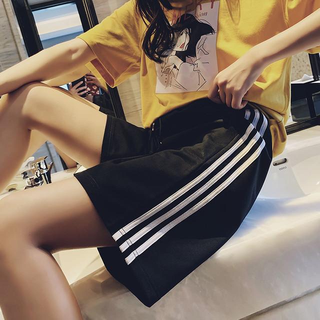 【ボトムス】INSファッションハイウエストショートパンツ27012441