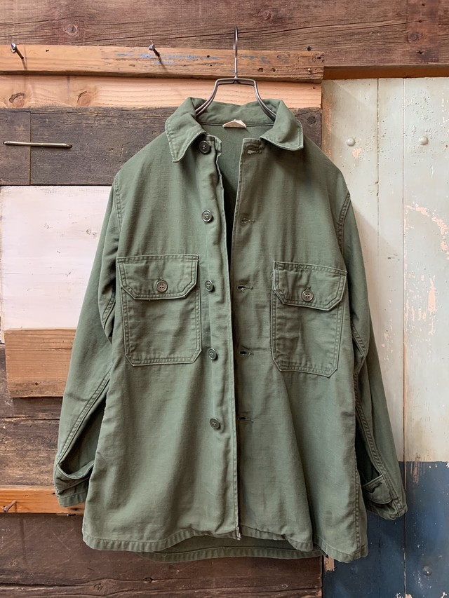 60's US ARMY UTILITY SHIRT OG107 2nd