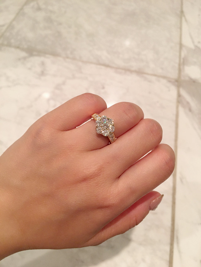 モアサナイト 3.5カラット ダイヤモンド プラチナ