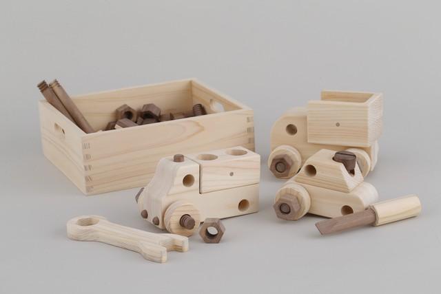 整備士セット MECHANIC SET ※送料無料  | 木のおもちゃ 知育 組み立ておもちゃ
