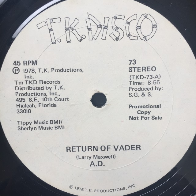 A.D. – Return Of Vader