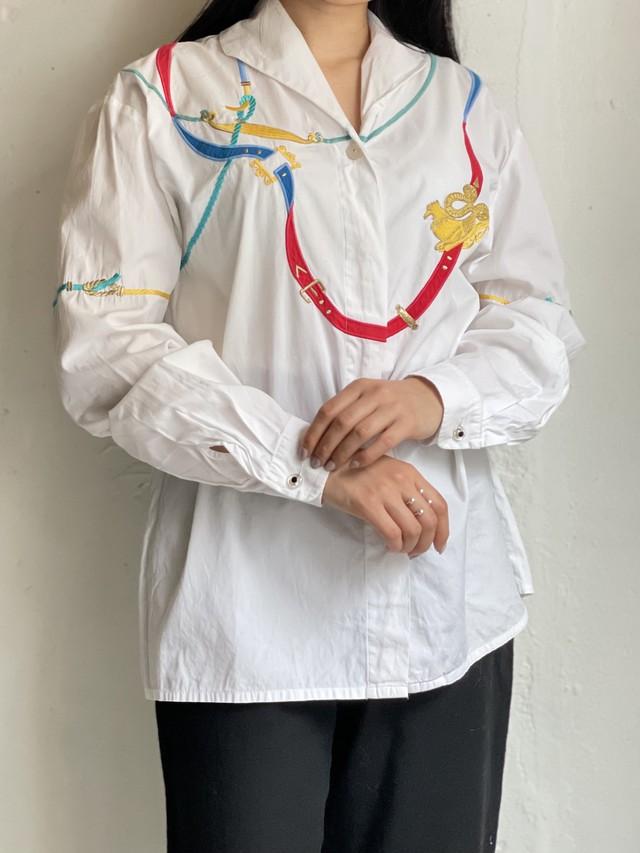 laurel vintage embroidery blouse