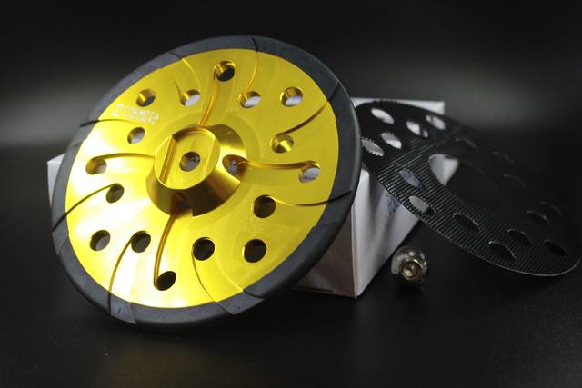 【数量限り】磨Detailing×FORMOSA アルミバッキングプレート  RUPES専用品